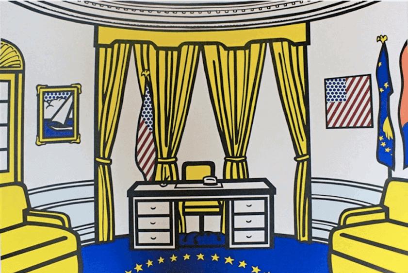 """""""The Oval Office"""" by Roy Lichtenstein"""