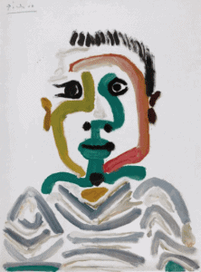 Buste de jeune garçon, 1964