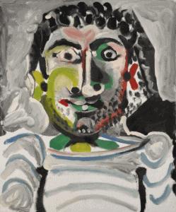 Buste d'homme, 1964.