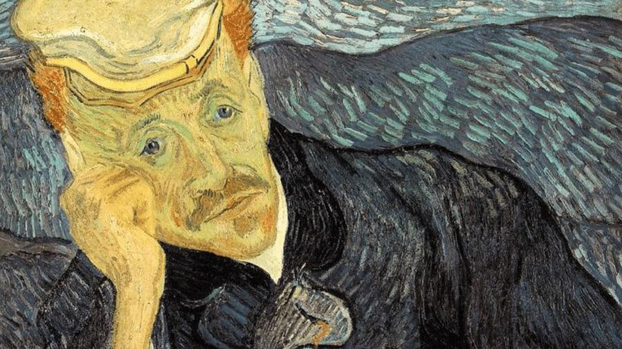 Portrait of Dr. Gachet (1890) by Vincent Van Gogh