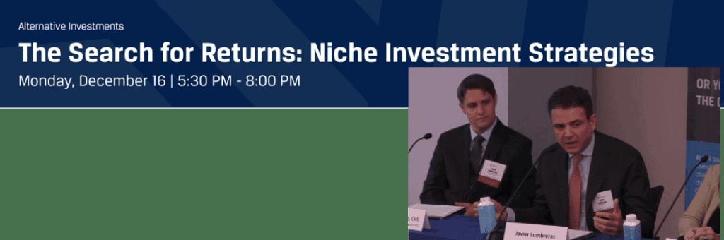 Niche Investment Strategies