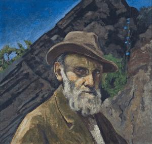 Gerardo Murillo (Dr. Atl), Self-Portrait 1949