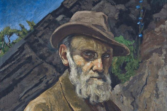 Dr. Atl, Self Portrait