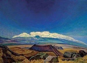 Paisaje con Volcán (1935)