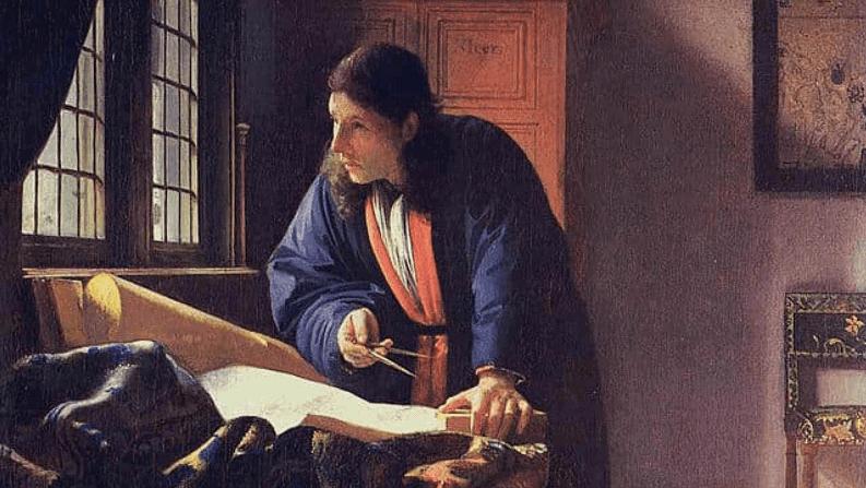 The Geographer(c. 1668–1669) by Johannes Vermeer