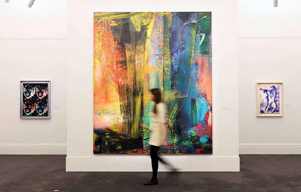 "Gerhard Richter's ""Abstraktes Bild,""(1986)"