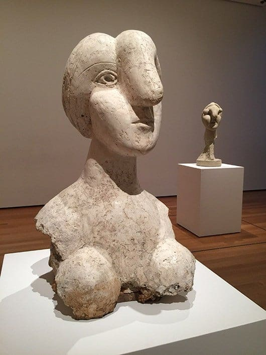 Bust of a Woman (1931) Pablo Picasso