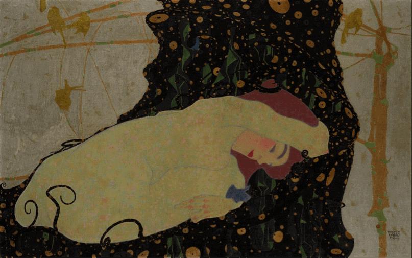 Egon Schiele (1909) Danaë