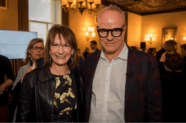 Patricia Harris and Hans Ulrich Obrist