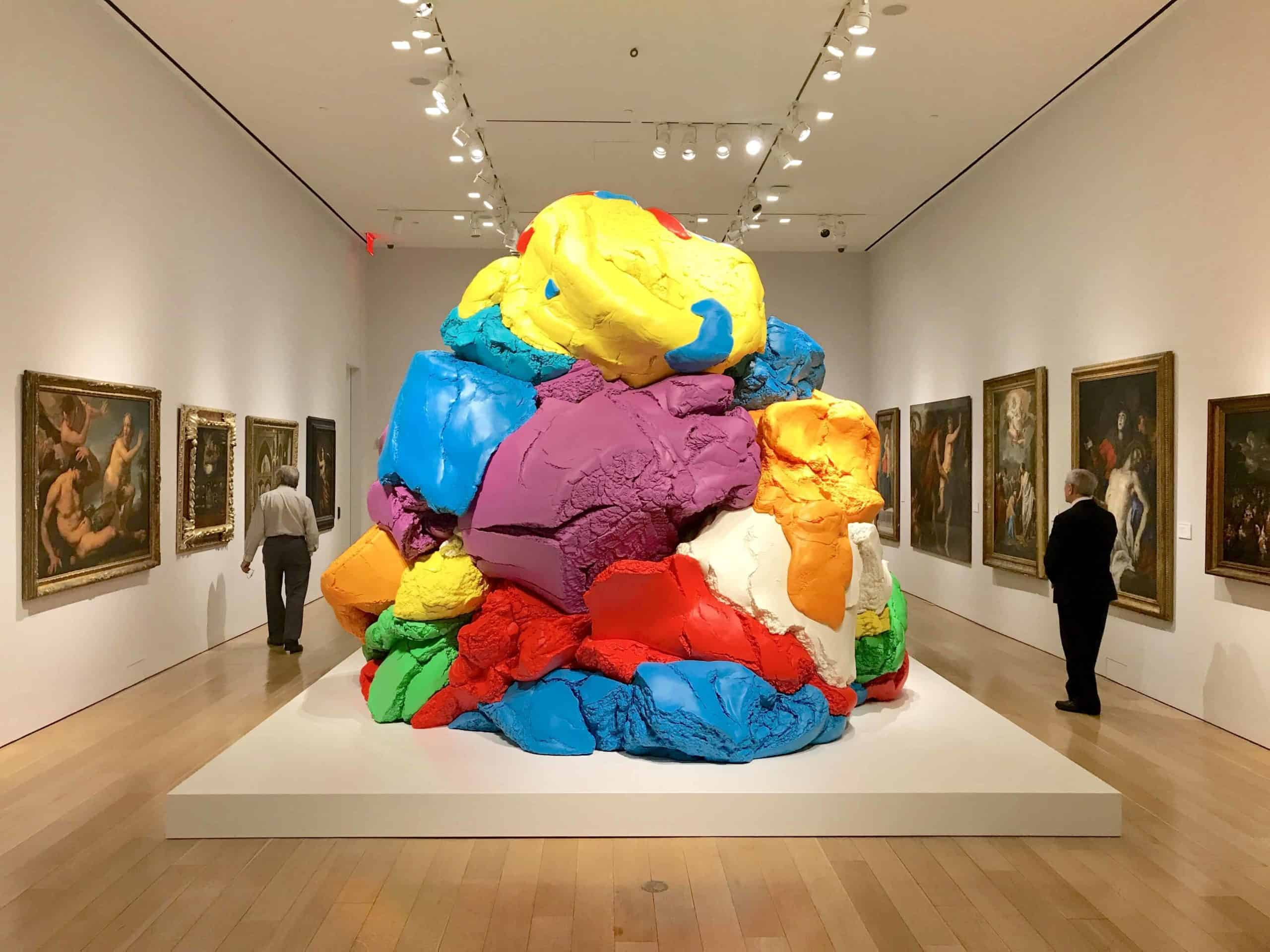 Jeff Koons,Play-Doh, 1994-2014