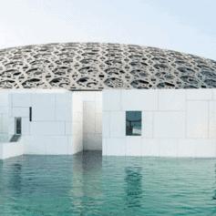 The Louvre Abu Dhabi, United Arab Emirates