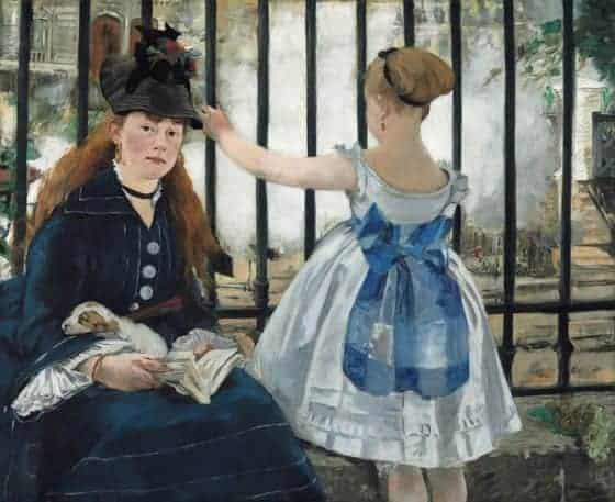 The Railway (1873) Edouard Manet