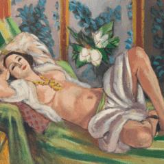 Henri Matisse, Odalisque Couchée aux Magnolias