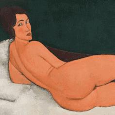 Amedeo Modigliani Nu Couché