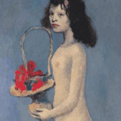 Pablo Picasso, Fillette à la Corbeille Fleurie
