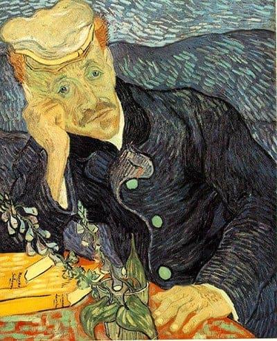 Van Gogh's Portrait du docteur Gachet