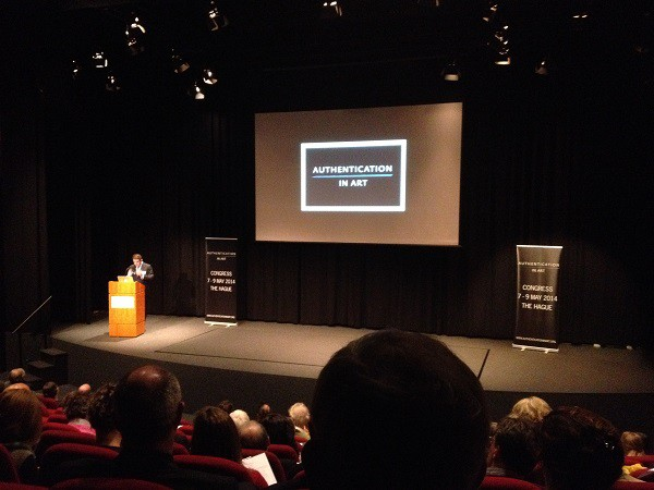 Authentication in Art Congress, May 2014